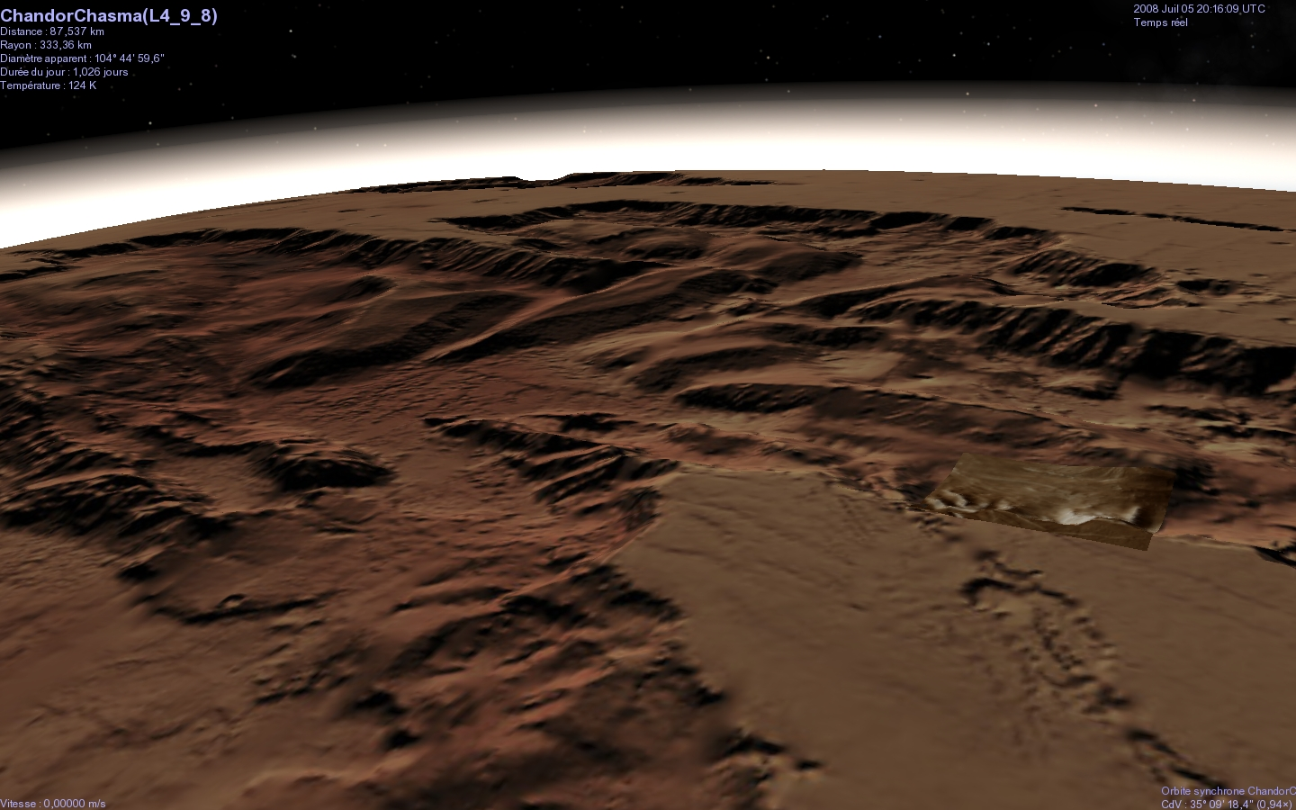 view topic 3d mars chandor chasma
